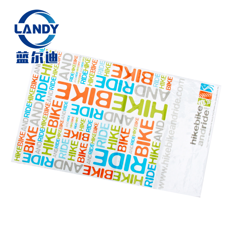 custom logo flat poly mailer recycle packaging custom poly bag mailers logo
