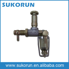 out-connecting hand oil pump assembly