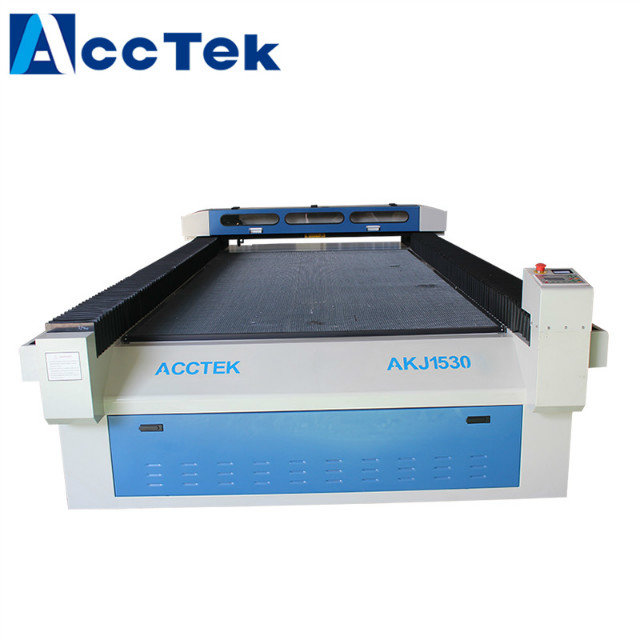 Acctek co2 laser <strong>cutting</strong> and engraving machine AKJ1530 for metal and nonmetal