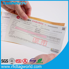 One Time Use UHF RFID Luggage Tags for airport bag tracking