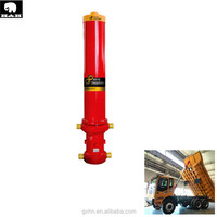 three stage/four stage/five stage telescopic hydraulic cylinder for dump truck