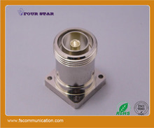 7/16 din female jack connector to 32mm flange panel with Mx3