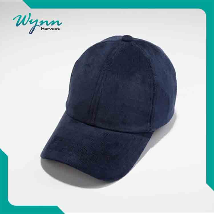 Promotional Manufacture custom bump cap suede baseball hat and cap