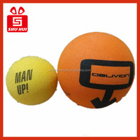 Floral foam machine colorful soft eva foam ball / nbr foam ball / sponge ball shooting gun