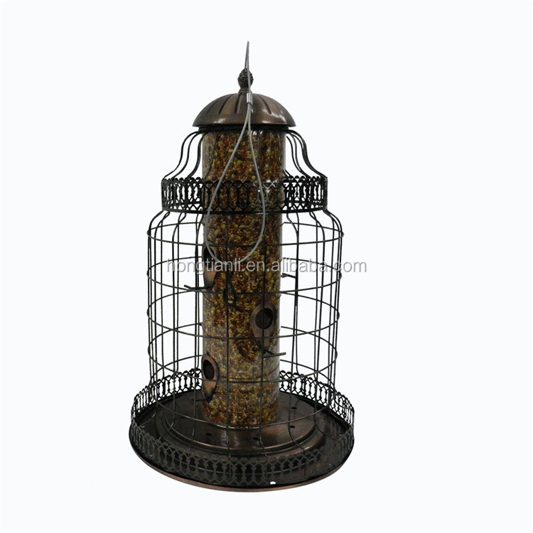wholesale cheap humming bird feeder metal bird house