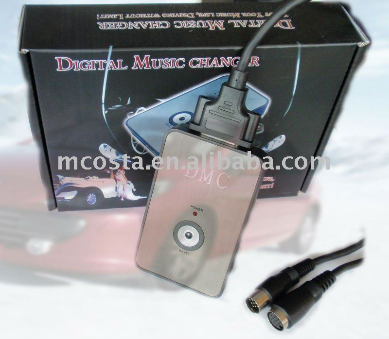 (DMC-9088) Mcosta Car USB SD MP3 interface adapter for iPod iPhone Aux in(CE approval)