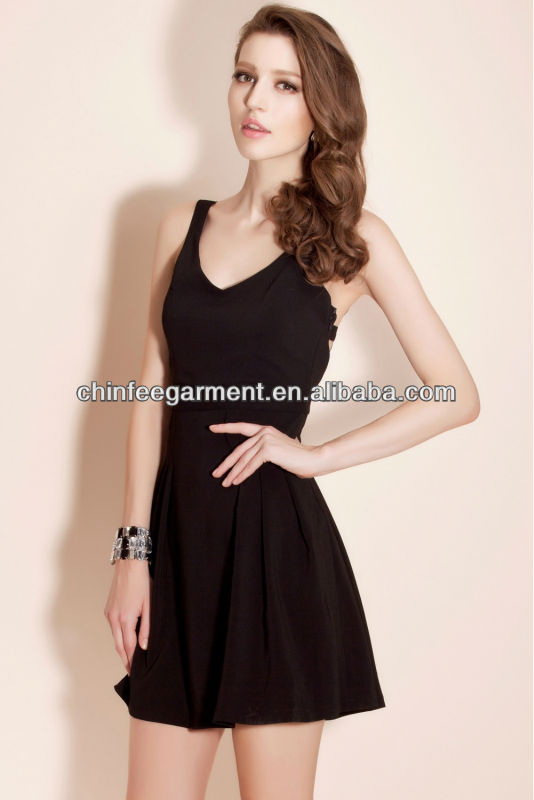 fashion dress paint tailored pleat women skirt dress