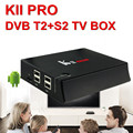 Very hot kii pro 2.4g 5g android tv box dvb mega plus android