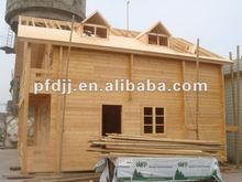 Prefab log wooden house