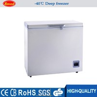 chest type Medical Refrigerator -40 degree low temperature freezer