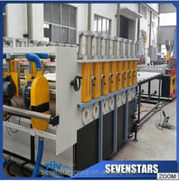 PVC foam board making machine for export