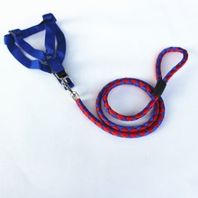 high quality Pet Accessories Printed dog Leash and dog harness