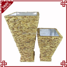 S&D classical style water hyacinth cubic large flower pots