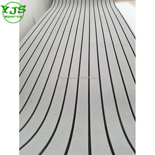 "94.5""x47"" Light Grey Crocodile Grain eva boats decking sheet Synthetic Teak Mat composite floor non-slip"