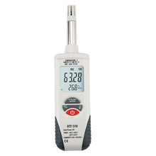 Digital Psychrometer Thermo-Hygrometer Temperature and Humidity Meter with Dew Point, Wet Bulb & LCD Display, Battery Included
