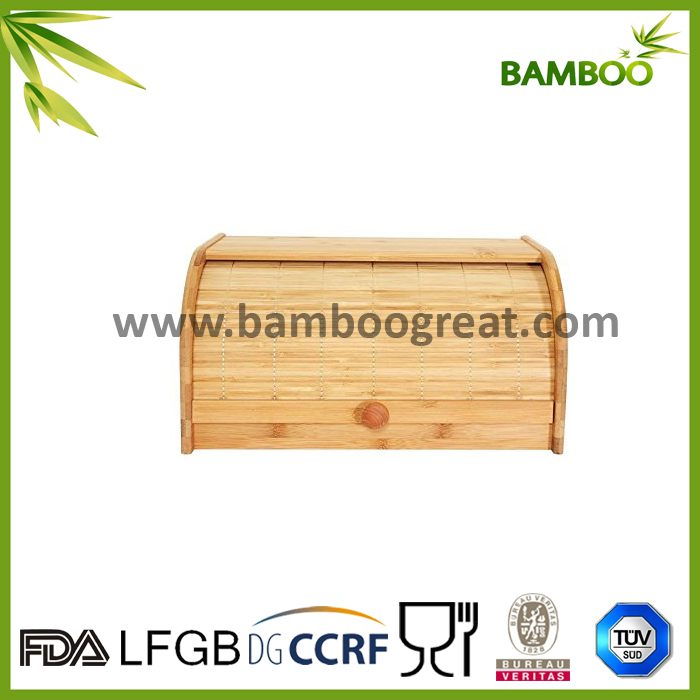 Wooden Bread Box Bread Bin