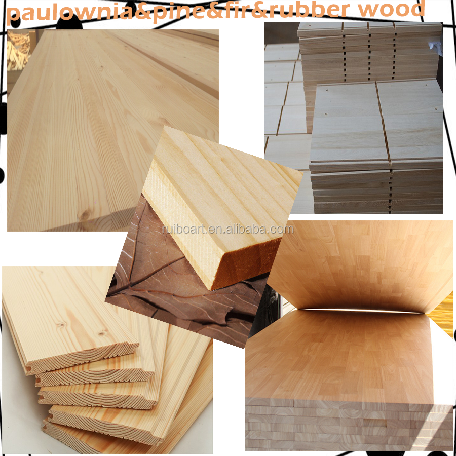 wood finger joint board for use furniture board