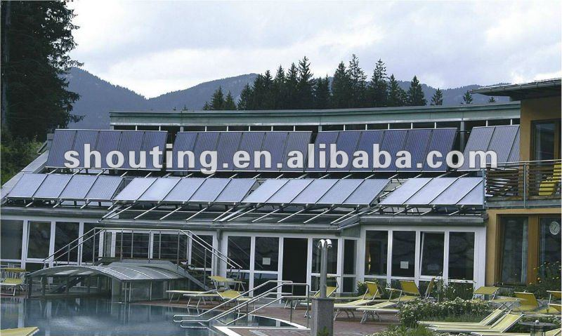 Hotel/Swimming Pool/Heat Pipe Solar Collector