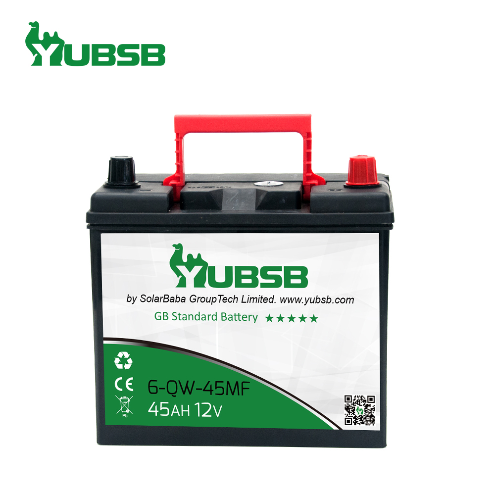 Super Start Power JIS Standard auto 12 45ah 46B24R-MF mf car battery