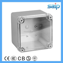 IP 66 plastic waterproof box with clear cover DS-AT-1212