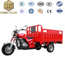 Manul Clutch 3 Wheel Cargo Motor Tricycle Trike Gasoline Tricycle 150cc 175cc 200cc 250cc