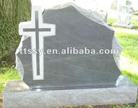 American Black shell-rock Rustic Shape monument