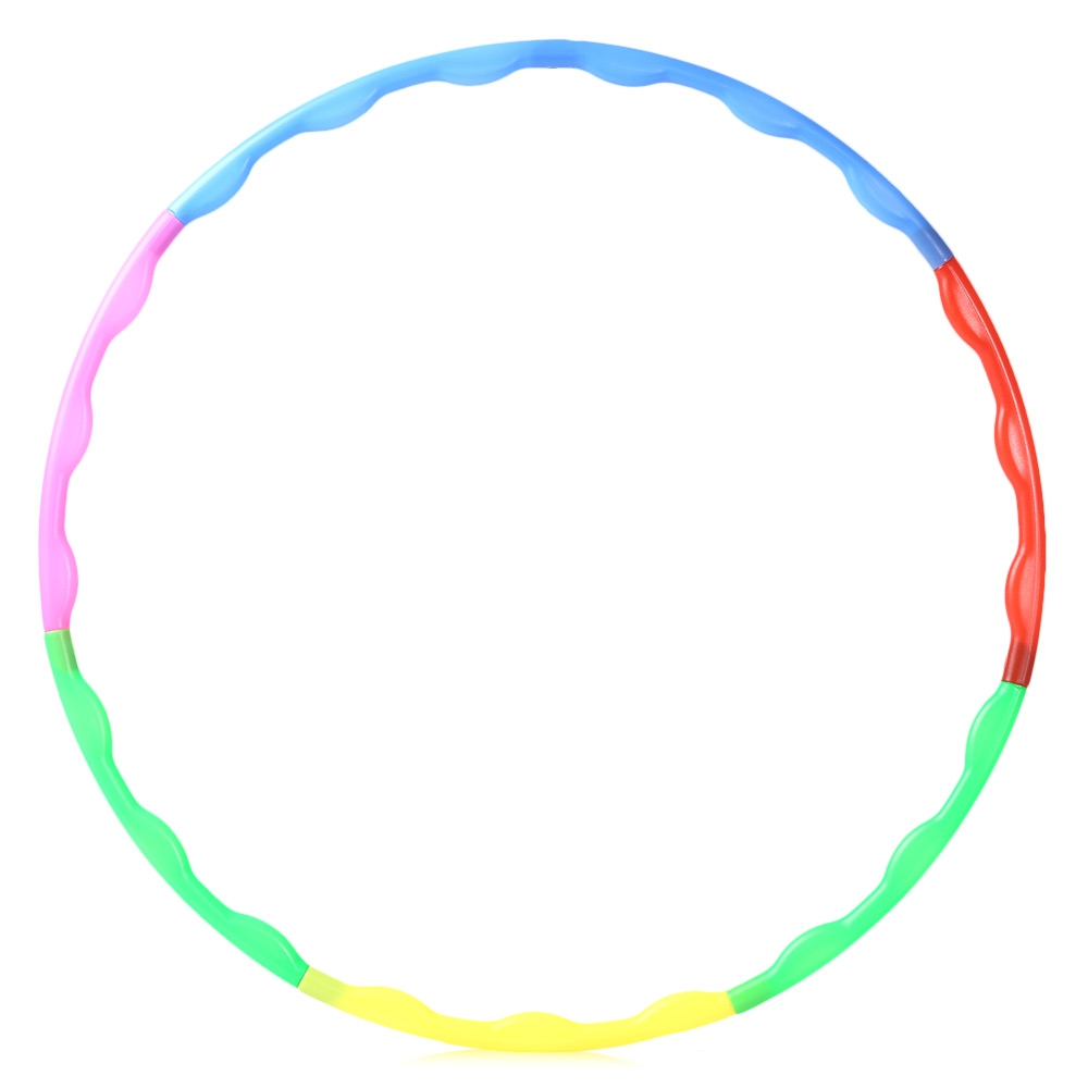 Detachable Adjustable Multicoloured Hula Hoop for Gymnastic Sport For Gym Exercise Body Health Slim