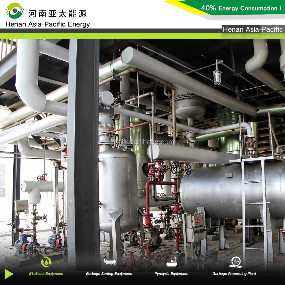 2015 new technology biodiesel plant biodiesel processing plant waste oil to fuel oil