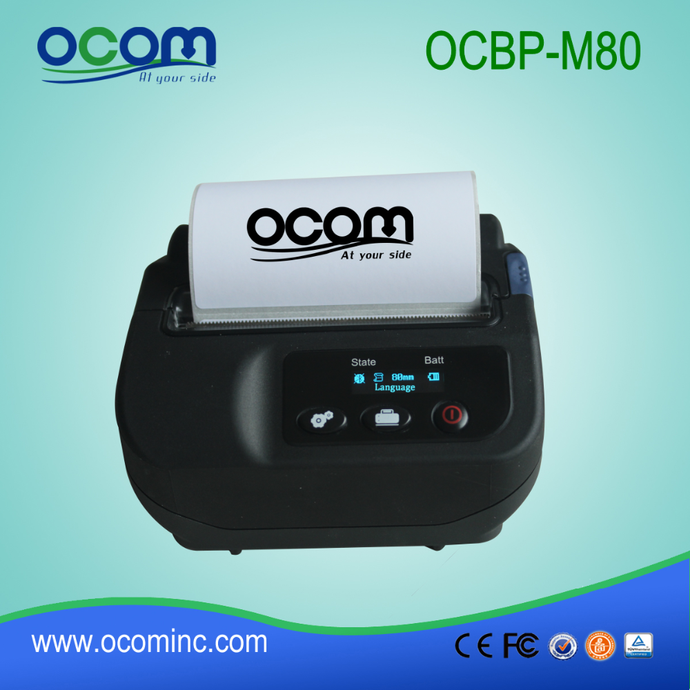"OCBP-M80---China high quality 3"" Portable cable label printer"