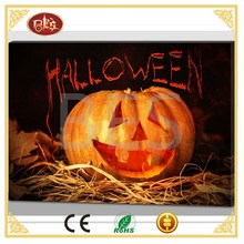 Popular halloween decorative wall art canvas printing, lighted canvas.