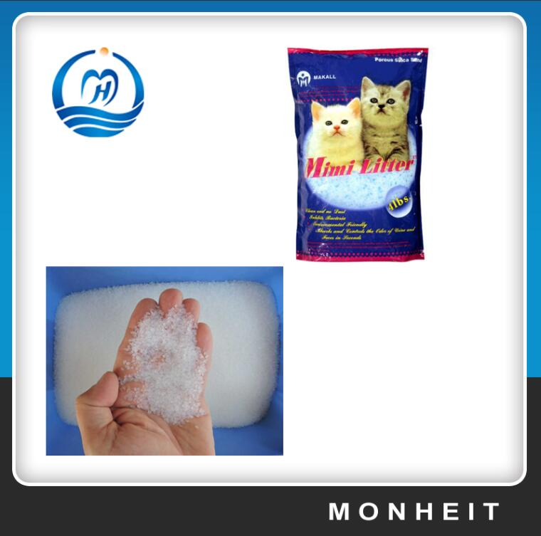 Fast Delivery Good Supplier Crystal Silica Gel Kitty Litter