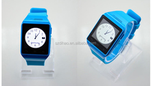2014 New Design wholesale bluetooth android touch screen gsm smart latest wrist watch mobile phone