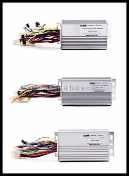 china made 36v 12A 6 tube BLDC electric bike motor controller