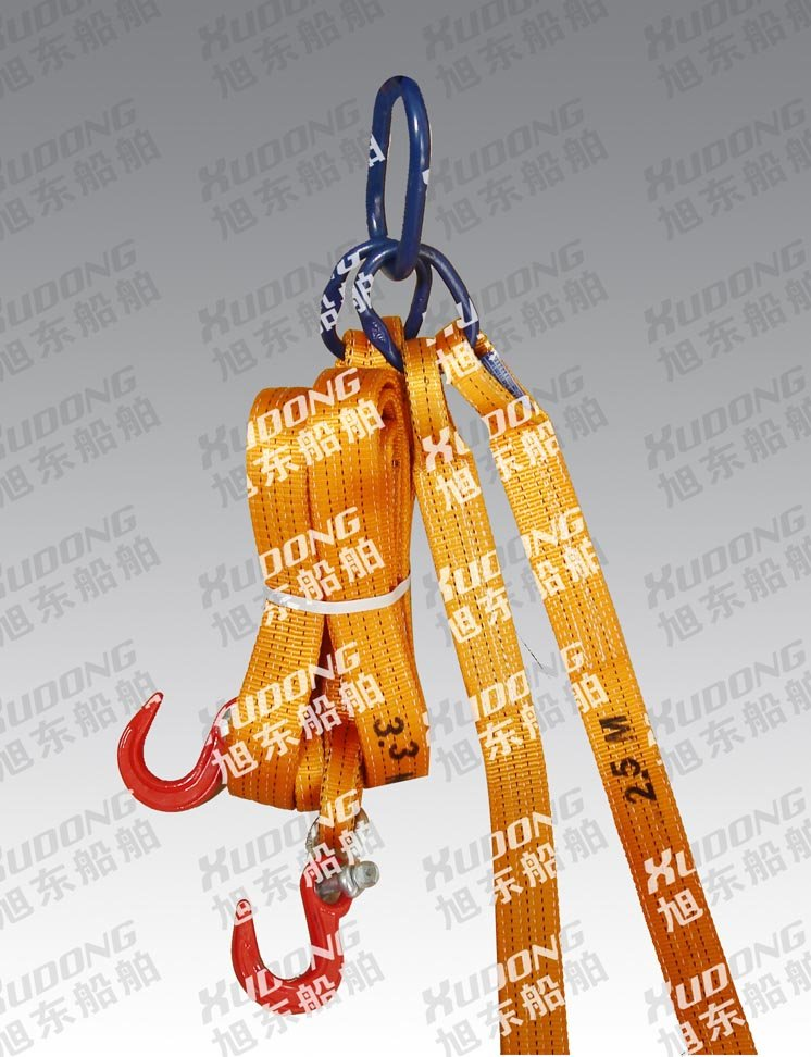 Lifting belt with alloy lifting hook