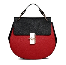 High quality PU leather bag small MOQ fashion bag OEM factory SBG1655 fashion lady handbag