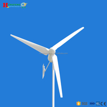Freestanding tower of 2KW wind turbine generator