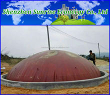 Pvc Biogas Plant India Portable Family Size
