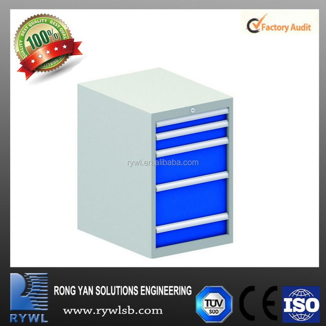 5 drawers cheap industrial metal tool storage cabinet