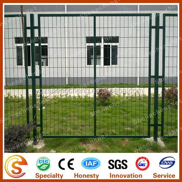 gates and steel fence design with frame (Guangzhou factory)