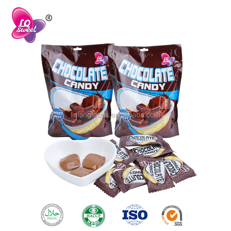 Wholesale Cheap Chocolate Flavored Soft Chewy Candy Brands