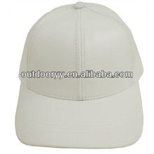 custom plain fitted black mens leather strap brim baseball cap wholesale