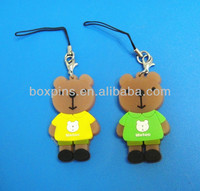 Couple Bear For Lovers mobile Strap Pendant
