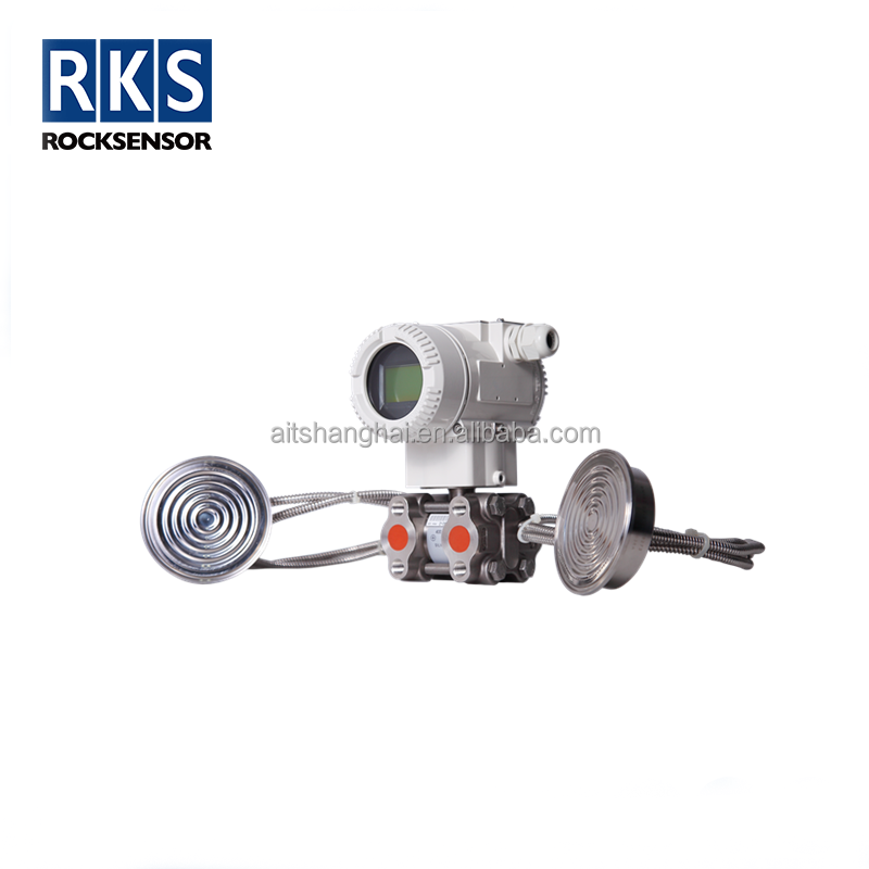 Flow measurement type sanitary pressure transmitter with ATEX