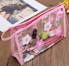 2016 clear pvc travel toiletry bag