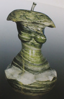 modern famous polishing abstract female stone sculpture