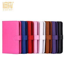 Custom pu leather flip stand 7 / 8 / 9 / 9.7 / 10.1 inch tablet wireless keyboard case for ipad