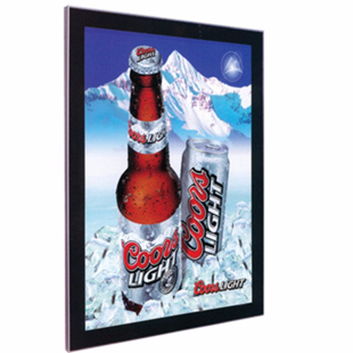 hot sales customed LED Light Jewelry Box LED Illuminated Pictures Frame Slim Magnetic Advertising Light Box