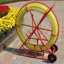 300m fiberglass FRP duct rods/ fiber snake duct rodder/ Bottom price promotional frp duct rodder rodding fiberglass snake
