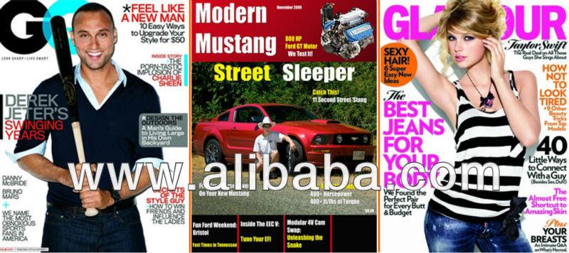 Magazine/Newspaper Layout Design.