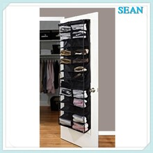 Hot selling 30 Pair Shoe Hanging Closet shoe organizer/door shoe rack